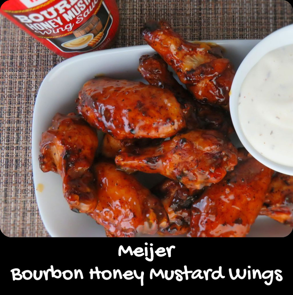 Meijer Bourbon Honey Mustard Wings