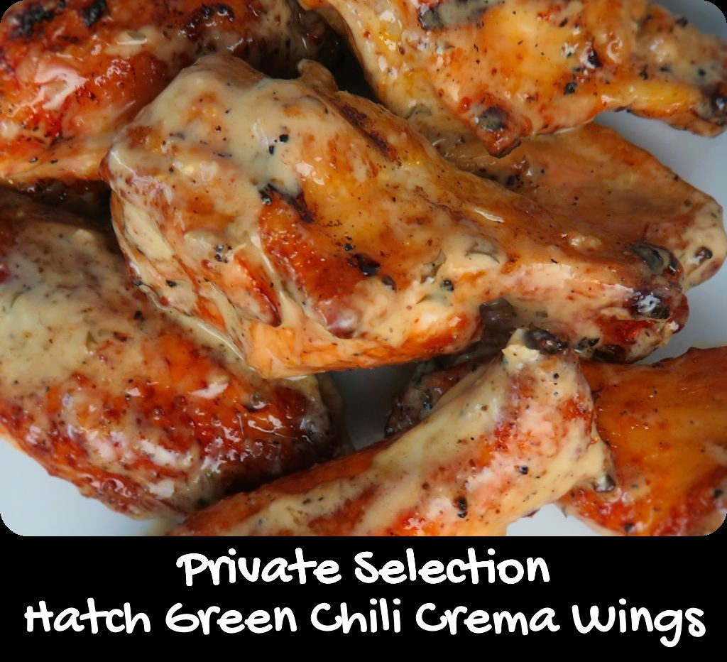 Private Selection Hatch Green Chile Crema Wings