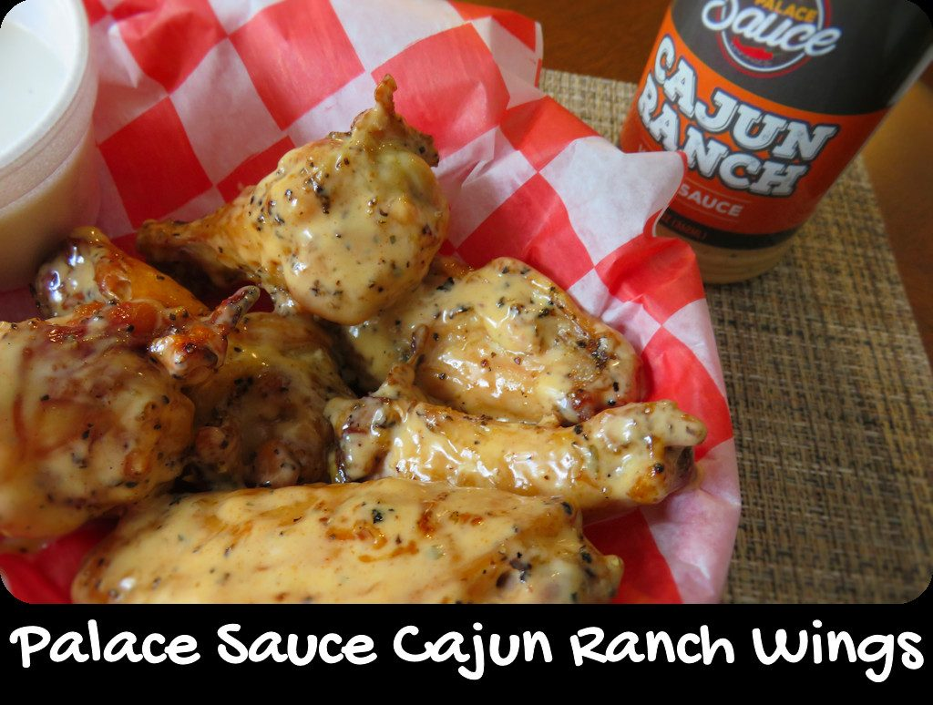 Palace Sauce Cajun Ranch Wings