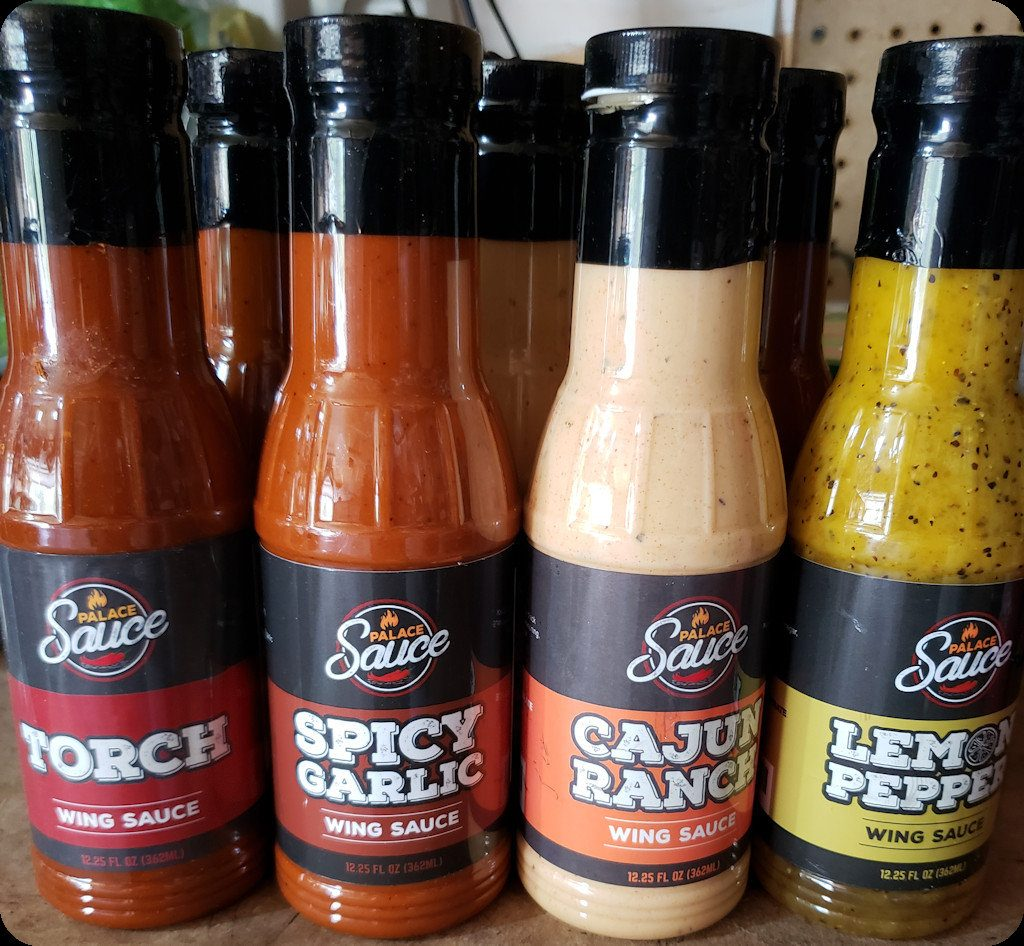 Palace Sauce Wing Sauces
