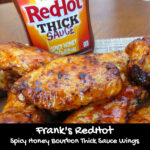Frank's RedHot Spicy Honey Bourbon Thick Sauce Wings